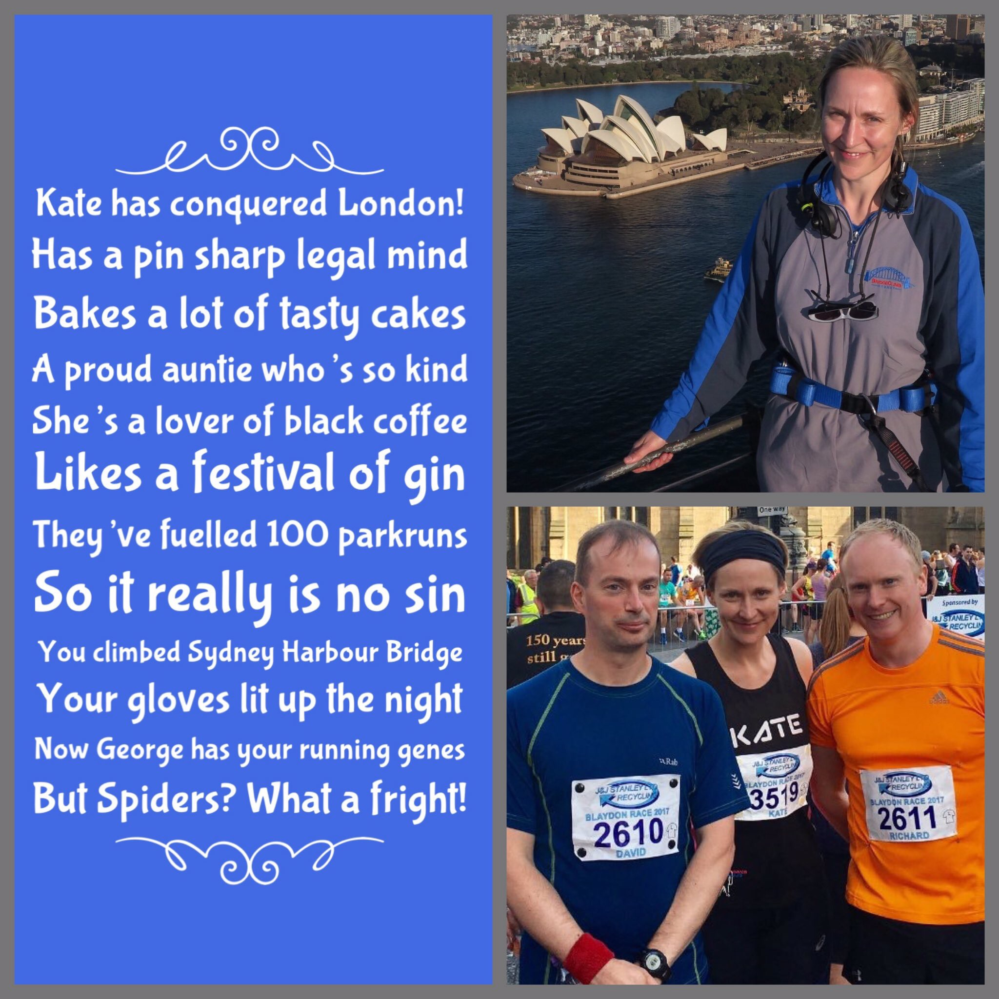 Kate has conquered London!
