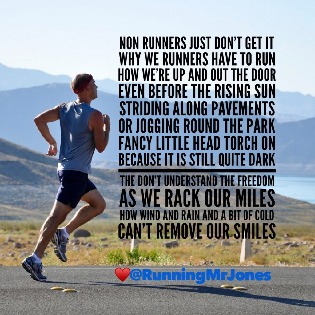 Non Runners Don't Get It – AB