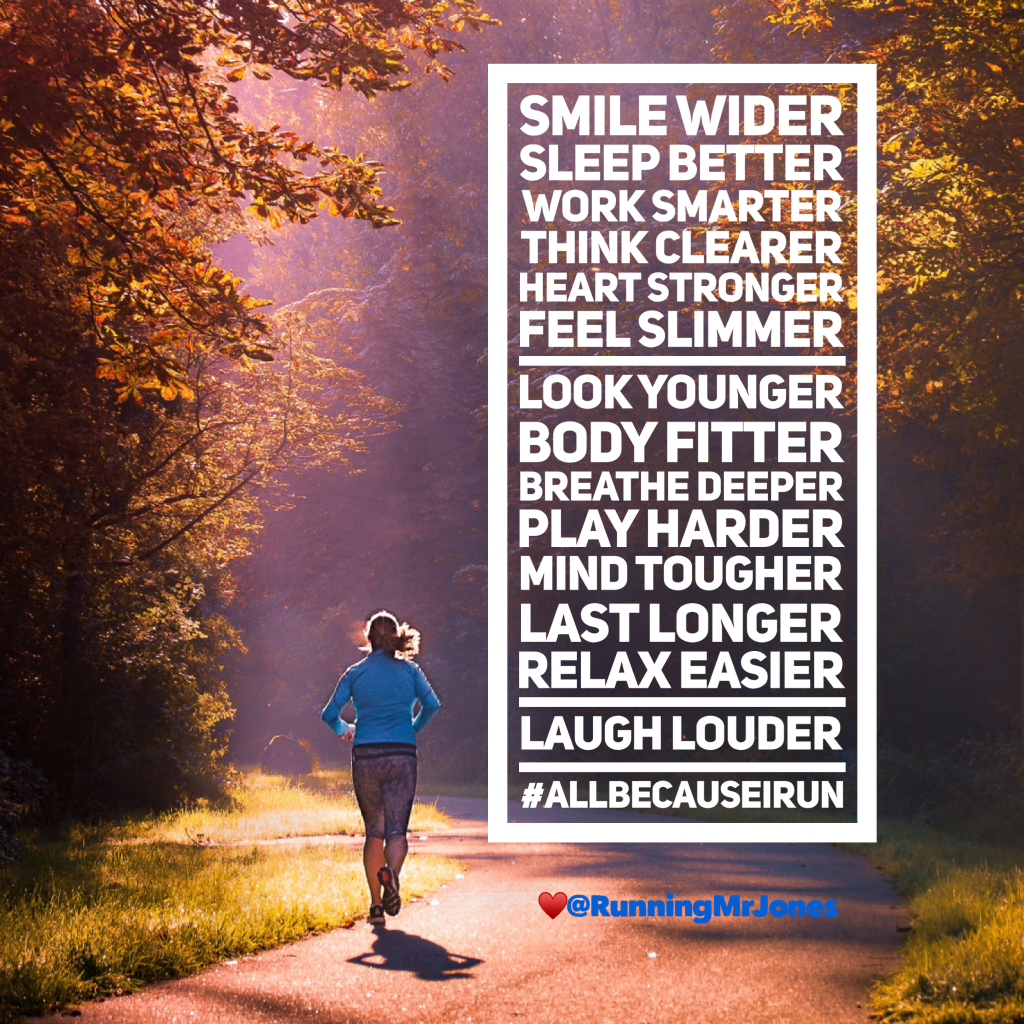 All Because I Run – AB